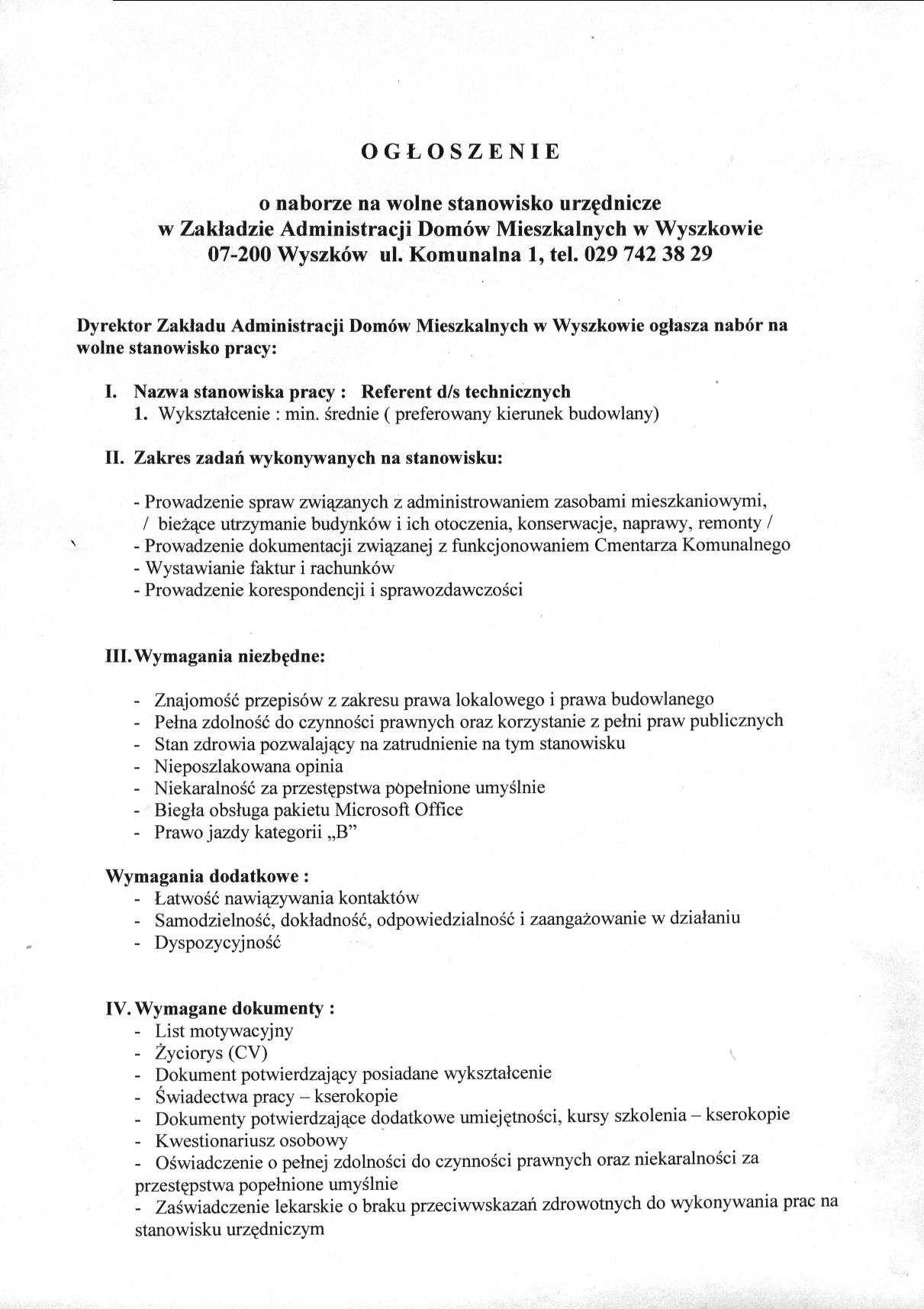 Gmina Wyszków Biuletyn Informacji Publicznej